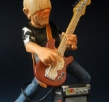 Rock bass player 19 cm
