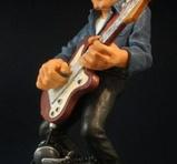 Rock guitarist 19 cm