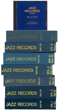 Vol.1 A-Ba Jazz Records 1942-80 (BOOK)