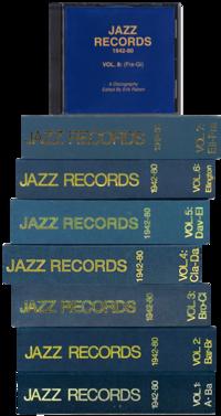 Vol.3 Bro-Cl Jazz Records 1942-80 (BOOK)