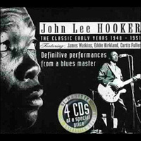 HOOKER JOHN LEE (4CD-BOX)